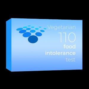 Vegetarian 110 food intolerance test