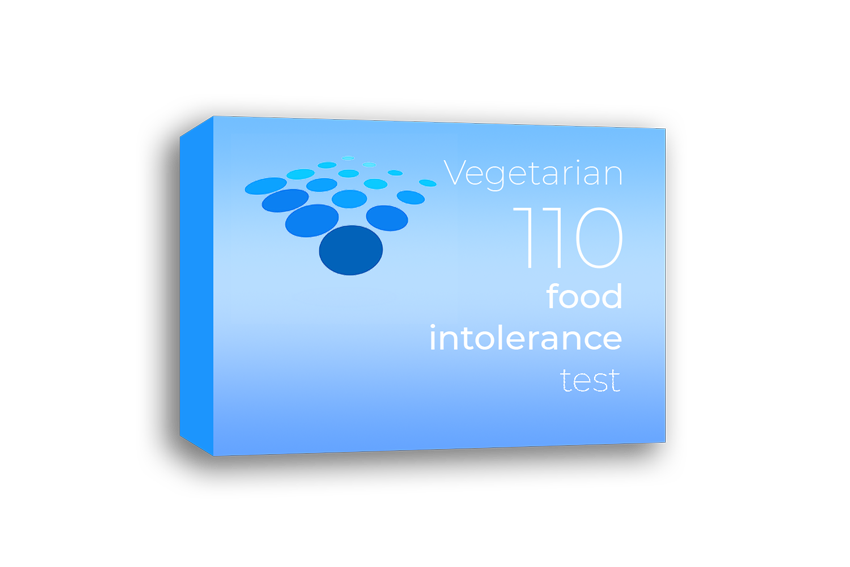 Vegetarian 110 food intolerance test