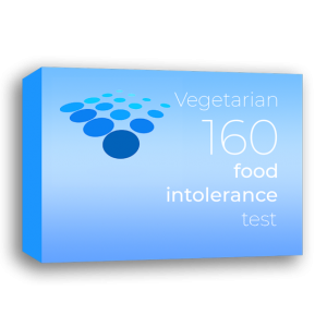 Vegetarian 160 food intolerance test